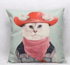 Mr. Animal Vintage Cushion - TopTier Shop Unique Fun Trending Gifts Hot Items Shopping Pillow