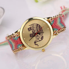 Gold Elephant Watch - TopTier Shop Unique Fun Trending Gifts Hot Items Shopping Watches