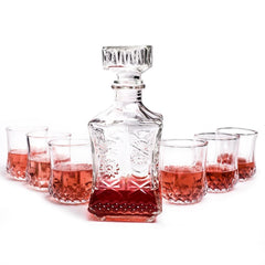 Italian Decanter & Wine Glasses Set - TopTier Shop Unique Fun Trending Gifts Hot Items Shopping Wine