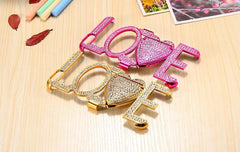 iPhone Diamond Love Case w/Stand - TopTier Shop Unique Fun Trending Gifts Hot Items Shopping iPhone Accessories