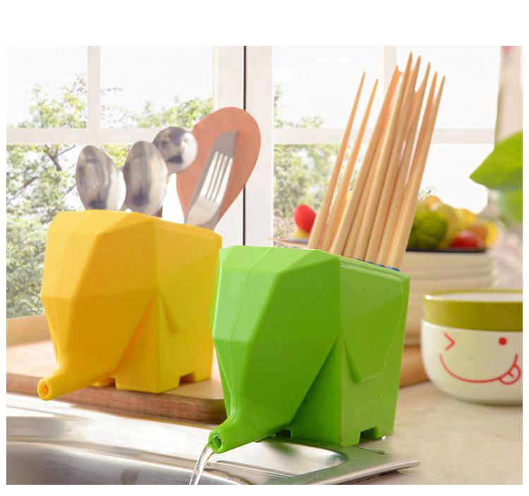 Elephant Cultery Drainer - TopTier Shop Unique Fun Trending Gifts Hot Items Shopping Home Tool