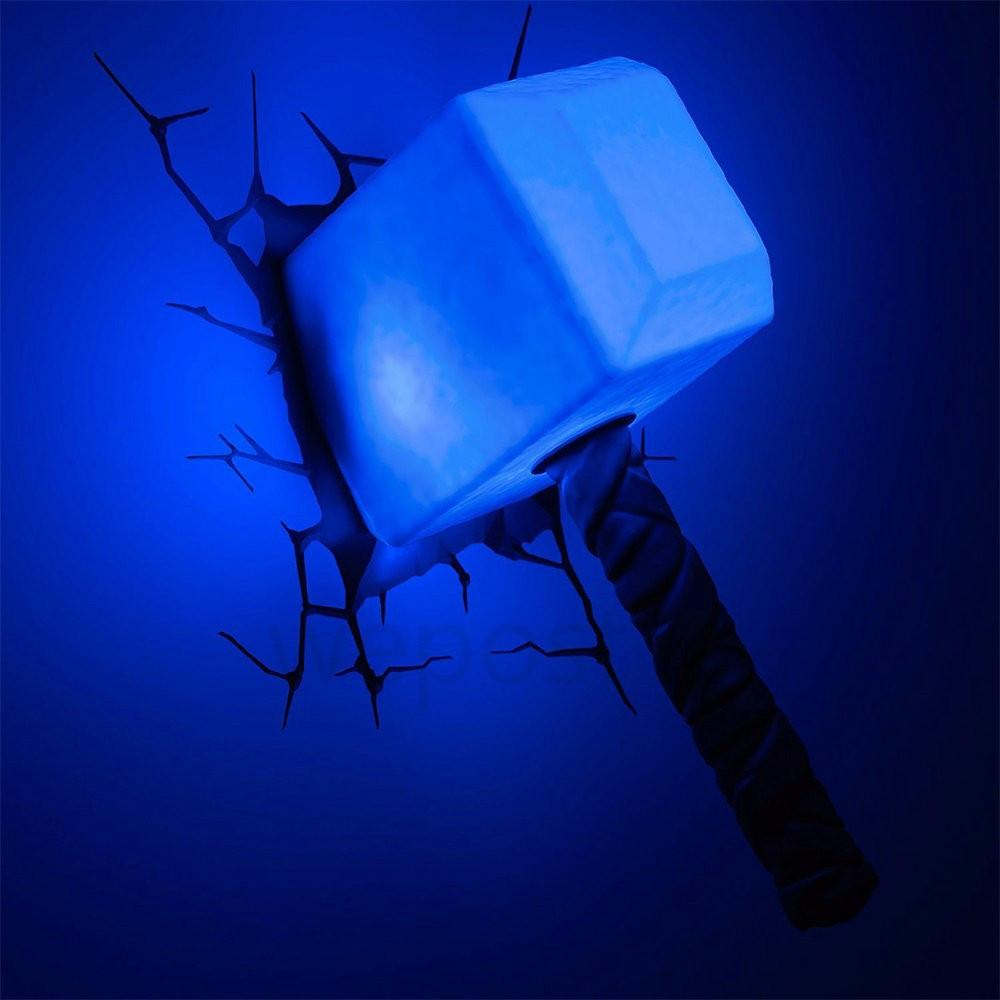 3D Light Thor Hammer - TopTier Shop Unique Fun Trending Gifts Hot Items Shopping Lighting