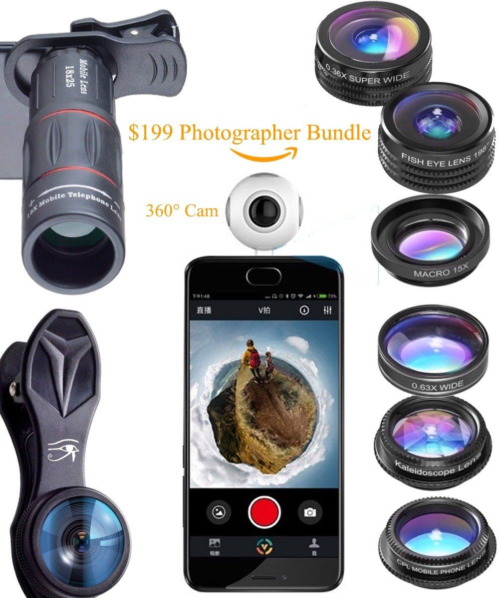 360 Retina iPhone Cam - TopTier Shop Unique Fun Trending Gifts Hot Items Shopping iPhone Accessories