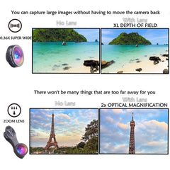Retina 7-in-1 Lens for iPhone - TopTier Shop Unique Fun Trending Gifts Hot Items Shopping iPhone Accessories