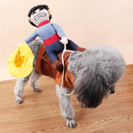 Cowboy Dog Costume - TopTier Shop Unique Fun Trending Gifts Hot Items Shopping Dog t-shirt