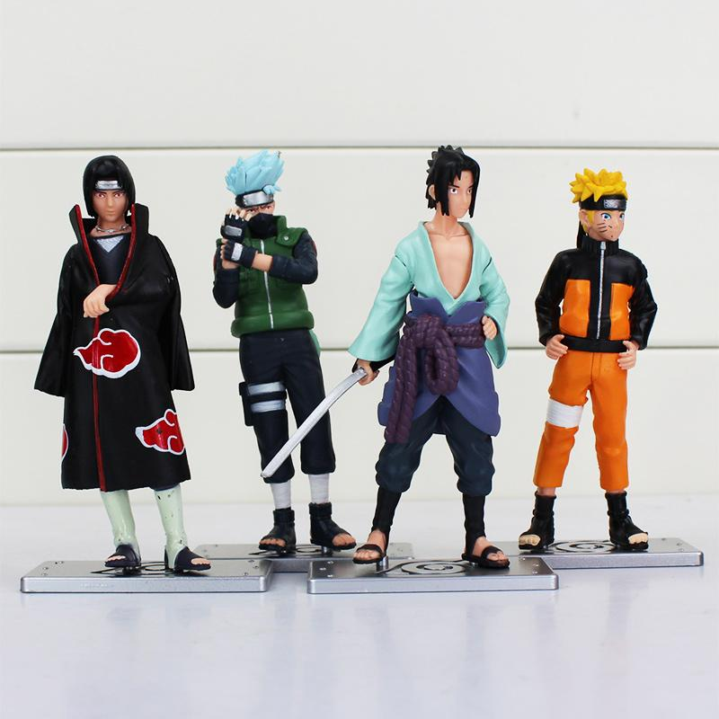 Naruto 4 Piece PVC Set - TopTier Shop Unique Fun Trending Gifts Hot Items Shopping TOYS