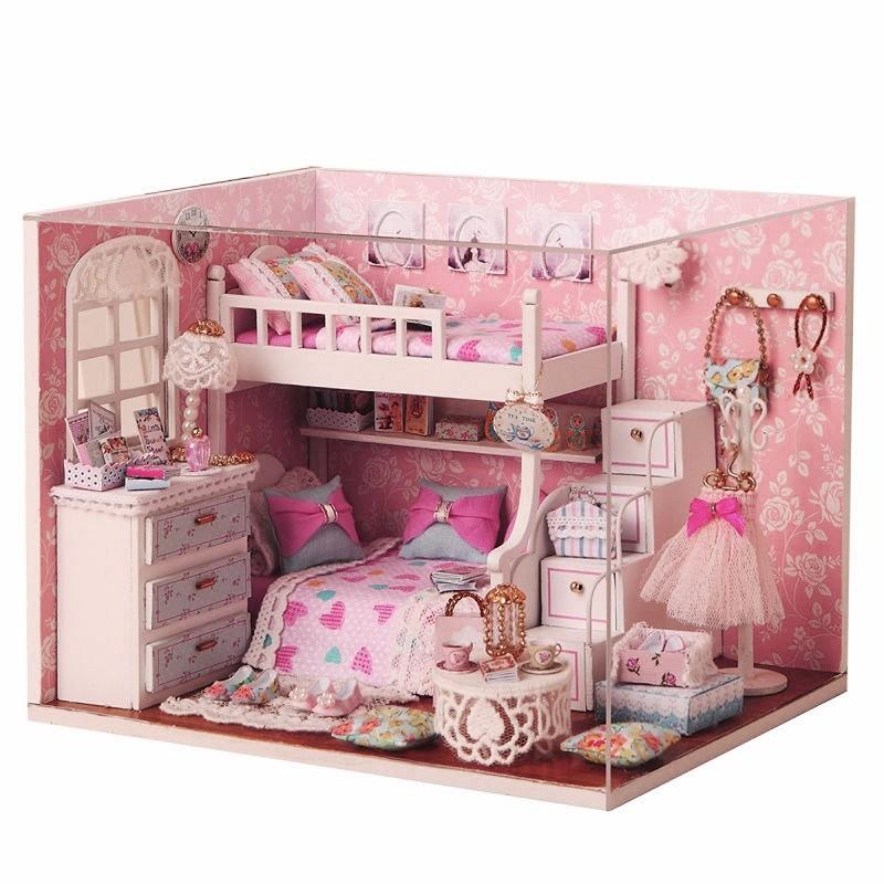 DIY Wooden Dollhouse Kit - TopTier Shop Unique Fun Trending Gifts Hot Items Shopping diy