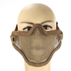 Protective Nylon Metal Mesh Mask - TopTier Shop Unique Fun Trending Gifts Hot Items Shopping