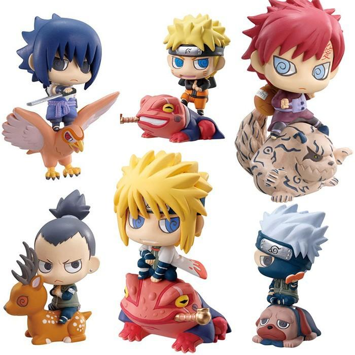 Naruto Mini PVC Set (6pcs) - TopTier Shop Unique Fun Trending Gifts Hot Items Shopping TOYS