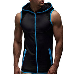 Sleeveless Fitness Hoodie - TopTier Shop Unique Fun Trending Gifts Hot Items Shopping gym