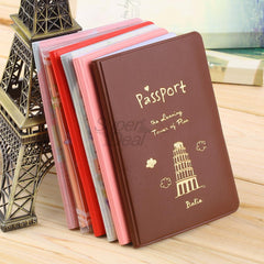 PVC Passport Holder Cover - TopTier Shop Unique Fun Trending Gifts Hot Items Shopping travel