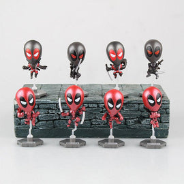 Mini Deadpool Car Accessory (8pcs) - TopTier Shop Unique Fun Trending Gifts Hot Items Shopping TOYS