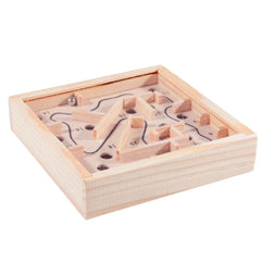 Mini Wooden Labyrinth - TopTier Shop Unique Fun Trending Gifts Hot Items Shopping puzzle