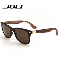 Retro Wood Shades - TopTier Shop Unique Fun Trending Gifts Hot Items Shopping Sunglasses