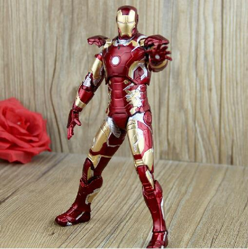 Iron Man Mark 43 Figure - TopTier Shop Unique Fun Trending Gifts Hot Items Shopping TOYS