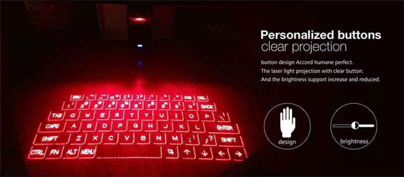 Laser Projection Virtual Keyboard - TopTier Shop Unique Fun Trending Gifts Hot Items Shopping Electronic