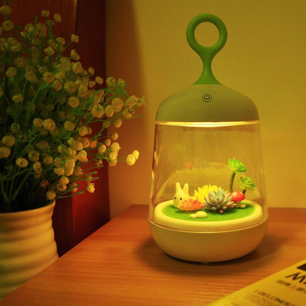DIY Mini Plant Landscape Night Light - TopTier Shop Unique Fun Trending Gifts Hot Items Shopping Home