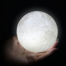 3D LED Moon Light Lamp - TopTier Shop Unique Fun Trending Gifts Hot Items Shopping Electronic