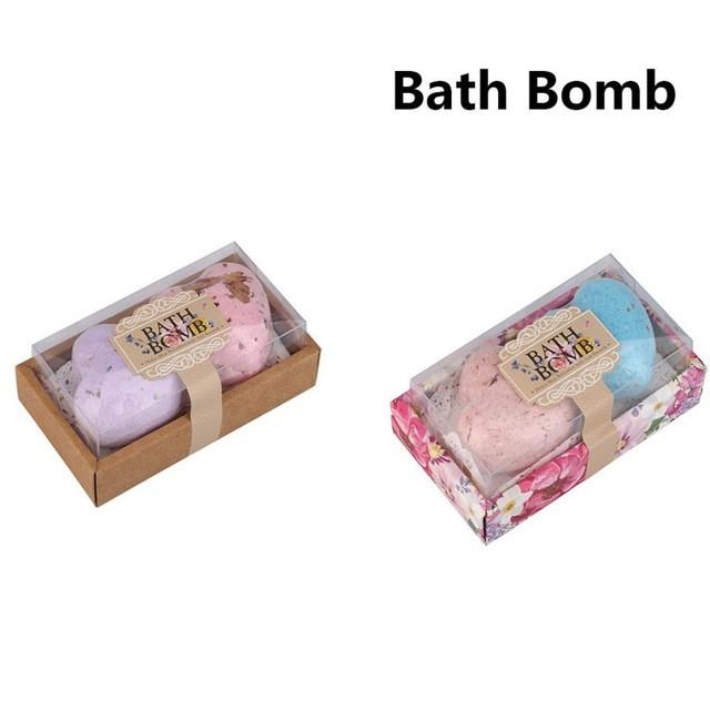 Sea Salt Lavender Heart Shaped Bath Bomb - TopTier Shop Unique Fun Trending Gifts Hot Items Shopping Home