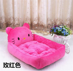 Fine joy Cute Animal Cat Dog Pet Beds Mats Teddy Pet Dog Sofa Pet Cat Bed House Big Blanket Cushion Basket Supplies S-XL - TopTier Shop Unique Fun Trending Gifts Hot Items Shopping dog