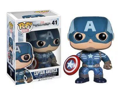 FUNKO POP CAPTAIN AMERICA - TopTier Shop Unique Fun Trending Gifts Hot Items Shopping TOYS