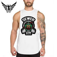 Ninja Turtle Gym Tank - TopTier Shop Unique Fun Trending Gifts Hot Items Shopping gym
