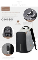 Anti-Theft Backpack - TopTier Shop Unique Fun Trending Gifts Hot Items Shopping travel