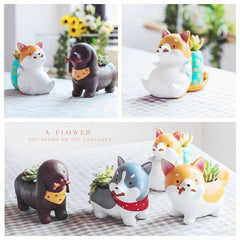 Puppy Succulent Planter - TopTier Shop Unique Fun Trending Gifts Hot Items Shopping Home