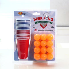 Beer Pong Set - TopTier Shop Unique Fun Trending Gifts Hot Items Shopping