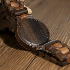 Vintage Zebra Wood Watch - TopTier Shop Unique Fun Trending Gifts Hot Items Shopping Watch