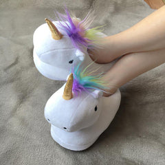 LED Unicorn Plush or Slippers - TopTier Shop Unique Fun Trending Gifts Hot Items Shopping Plush