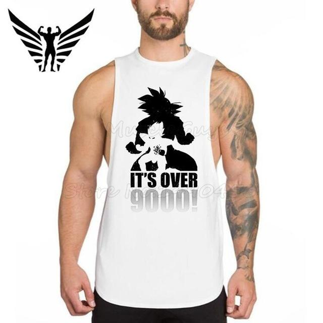 Saiyan Gym Tank - TopTier Shop Unique Fun Trending Gifts Hot Items Shopping gym