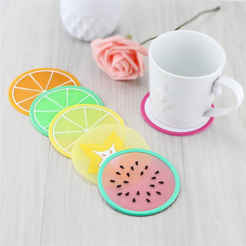 Silicone Fruit Coasters - TopTier Shop Unique Fun Trending Gifts Hot Items Shopping Home