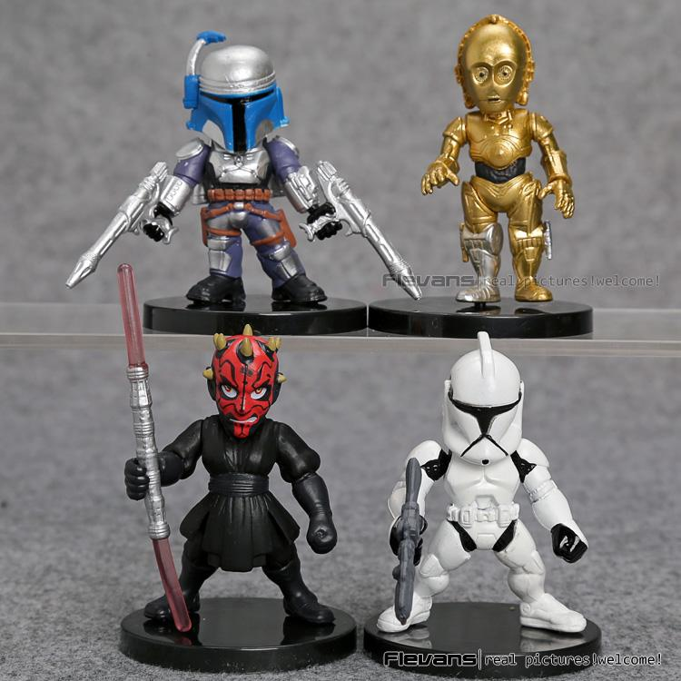 Star Wars PVC Set (4pcs) - TopTier Shop Unique Fun Trending Gifts Hot Items Shopping TOYS