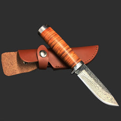 High-Carbon Steel Straight Knife - TopTier Shop Unique Fun Trending Gifts Hot Items Shopping tactical