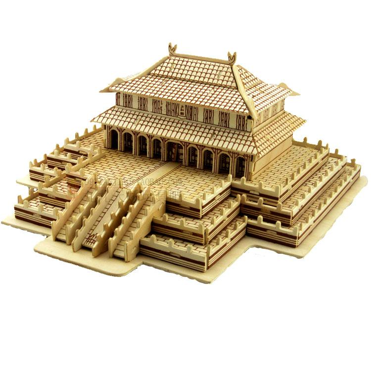 DIY Wooden Chinese Palace - TopTier Shop Unique Fun Trending Gifts Hot Items Shopping