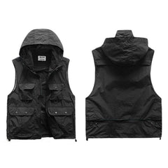 Cargo Hooded Hiking Vest - TopTier Shop Unique Fun Trending Gifts Hot Items Shopping Vest