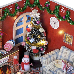 DIY Wooden Christmas House - TopTier Shop Unique Fun Trending Gifts Hot Items Shopping