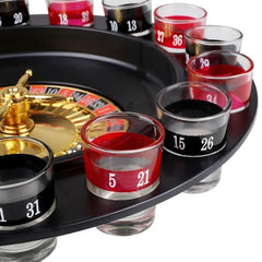 Roulette Shot Party Game - TopTier Shop Unique Fun Trending Gifts Hot Items Shopping