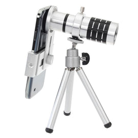 12x Zoom Camera Lens Telescope & Tripod - TopTier Shop Unique Fun Trending Gifts Hot Items Shopping Phone Accessories