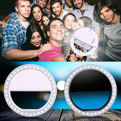 Luxury LED Selfie Ring Lights - TopTier Shop Unique Fun Trending Gifts Hot Items Shopping iPhone Accessories