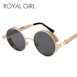 Retro Vintage Steampunk Round Sunglasses - TopTier Shop Unique Fun Trending Gifts Hot Items Shopping Sunglasses