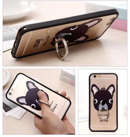 Cartoon Holder Cases for IPhone