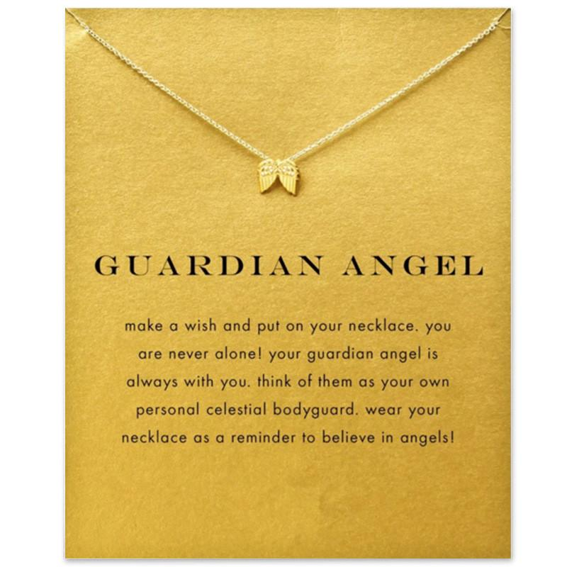 Guardian Angel Necklace - TopTier Shop Unique Fun Trending Gifts Hot Items Shopping Necklace