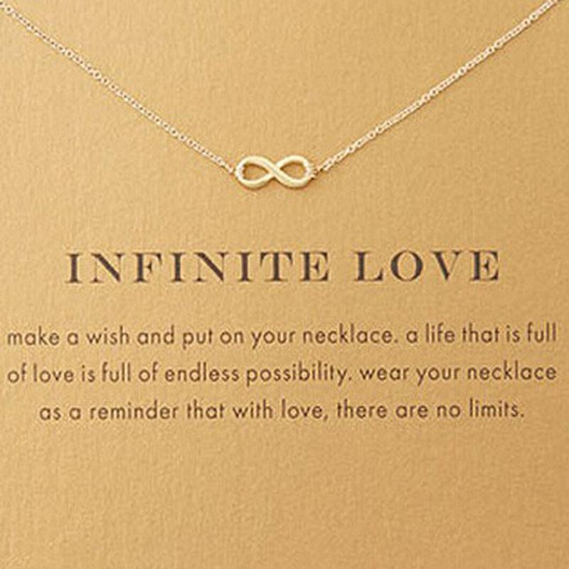 Infinite Love Pendant - TopTier Shop Unique Fun Trending Gifts Hot Items Shopping Necklace