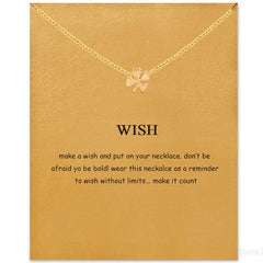Wish Pendant Necklace - TopTier Shop Unique Fun Trending Gifts Hot Items Shopping Necklace