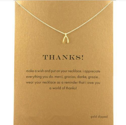 Thank You Necklace - TopTier Shop Unique Fun Trending Gifts Hot Items Shopping Necklace