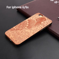 Natural Wood iPhone Case - TopTier Shop Unique Fun Trending Gifts Hot Items Shopping iPhone Accessories