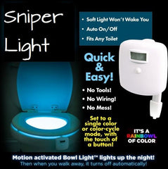 LED Toilet Night Light - TopTier Shop Unique Fun Trending Gifts Hot Items Shopping Home