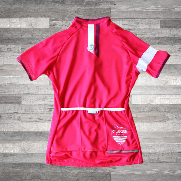 APOGEE CYCLE CLUB :: ROSE-FEMME .. APOGEE CYCLE CLUB :: WOMEN'S PINK JERSEY